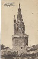 17, Charente Maritime, LA ROCHELLE, La Tour De La Lanterne Dite Des Quatres Sergents, Scan Recto-verso - La Rochelle