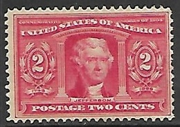 US  1904   Sc#324  Jefferson  MNH   2016 Scott Value $65 - United States