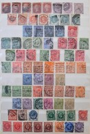 O Angol Gyűjtemény A Klasszikusoktól 8 Lapos A/4 Berakóban - Stamps