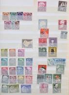 O Zónák, NSZK és Berlin Gyűjtemény 1945-2007 24 Lapos A/4 Berakóban. Szépen Rendezett Anyag!! - Stamps