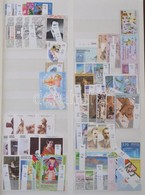 ** Belorusszia, Törökország, Ciprus, Görögország Kis Gyűjteményrészek 8 Lapos A4 Berakóban - Stamps