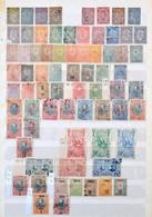 ** * O Bulgária 1879-1972 900 Különféle Bélyeg Sorokkal, Jobb értékekkel, 8 Lapos A/4 Berakóban - Stamps