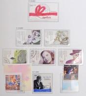 O NSZK Néhány Bélyeg Híján Teljes Gyűjtemény 1990-2006 DAVO Falcmentes Előnyomott Albumban, Tokkal (Mi EUR ~2.000.-) - Stamps