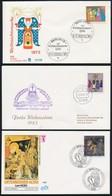 Németország - Berlin, NSZK 1972-1992 7 Klf FDC - Stamps