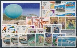 ** 1976-1996 34 Db Képes Bélyeg + 1 Db Blokk Stecklapon - Stamps