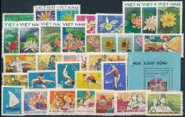 ** 1966 -1988 9 Klf Sor + 1 Blokk + 5 Klf önálló érték - Stamps