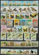 O 16 Db Klf Sorozat Berakólap 2 Oldalán - Stamps