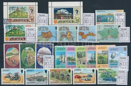 ** O Nagy-Britannia Jersey 4 Sor, 4 Bélyeg (Mi EUR 15.-) - Stamps
