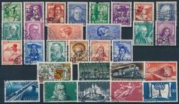 O Svájc 1933-1948 44 Db Bélyeg Teljes Sorokkal, Közte 5 Pro Juventute Sor - Stamps