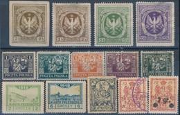 ** * Lengyelország 1915-1922 14 Klf Bélyeg - Stamps
