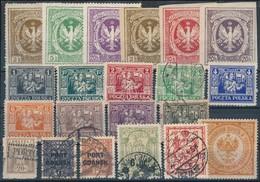 ** * O Lengyelország 1916-1926 21 Klf Bélyeg - Stamps