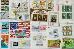 ** O Kb. 160 Db Blokk és Kisív Sok Motívummal - Stamps