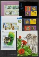 ** Angola 6 Sor + 9 Blokk,  A/4 Berakólap 2 Oldalán - Stamps