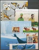 ** Angola 6 Sor + 8 Blokk,  A/4 Berakólap 2 Oldalán - Stamps