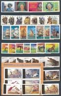 ** Tanzánia 9 Sor + 4 Blokk,  A/4 Berakólap 2 Oldalán - Stamps