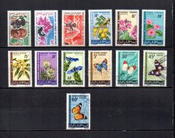 Mauritania   1966    Y&T   Nº    205/207-208/213-214/217     ( 214   Falta Punta  ) - Mauritanie (1960-...)