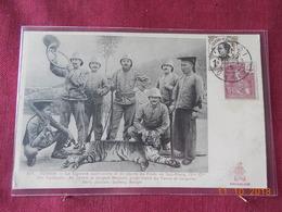 CPA - Tonkin - La Tigresse Apprivoisée Et En Liberté Du Poste De Soc-Giang, 13ème Cie 3ème Tonkinois - Viêt-Nam