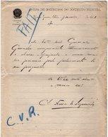 VP13.088 - Brésil - Corpo De Bombeiros ( Pompiers )  à RIO DE JANEIRO 1921 - Lettre De Mr ?? Pour Mr Le Général GAMELIN - Documenti