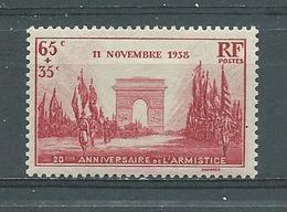 FRANCE -  Yvert  N° 403 * - Frankreich