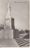 Braila Circulated Postcard (ask For Verso / Demander Le Verso) Dockers Monument - Monuments