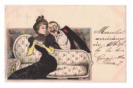 CARTOLINA  CARTE POSTALE   Cartolina Umoristica  Illustratore  VAN DOCK - Pubblicitari