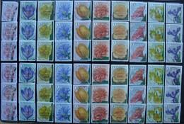 België 2016 Bloemen Fleurs - 60 Zegels/timbres - Stamps