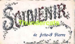 CPA SOUVENIR DE JETTE ST PIERRE BONJOUR - Jette
