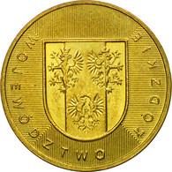 Monnaie, Pologne, Lodzkie District, 2 Zlote, 2004, Warsaw, TTB, Laiton, KM:487 - Polonia