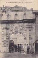 79.  SAINT MAIXENT L'ECOLE. CPA. ENTRÉE DE LA CASERNE CANCLAUX. ANNEE 1917 - Saint Maixent L'Ecole