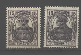 Allenstein,17a,b,xx,gep. - Deutschland
