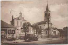 La Queue Lez Yvelines - L'Eglise Et La Mairie - Autres Communes