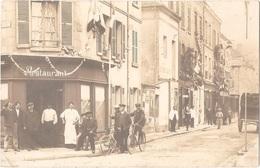 Dépt 27 - PACY-SUR-EURE - Carte-photo Magasins Décorés (FÊTE) - Restaurant - Café-Liqueurs Et Magasin TRISTANT-TOURNEUR - Pacy-sur-Eure