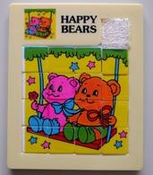 Taquin - Pousse Pousse - Happy Bears - 2 Oursons Sur Une Balançoire - Brain Teasers, Brain Games