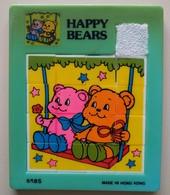 Taquin - Pousse Pousse - Happy Bears - 2 Oursons Sur Une Balançoire - Casse-têtes