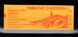 Andorre - Carnet YV 2 N** Fraicheur Postale - Carnets