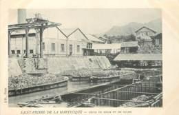 MARTINIQUE SAINT PIERRE DE LA MARTINIQUE USINE DE RHUM ET DE SUCRE - Martinique