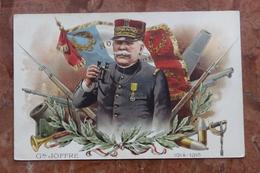 WW1 - CARTE PATRIOTIQUE JOFFRE - Patriotiques