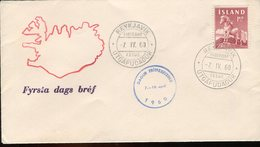 Iceland/Islande/Ijsland/Island FDC 7.IV.1960 Horse - FDC