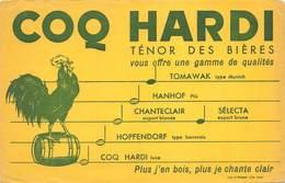 VP-GF.18 -.693 : BUVARD. COQ HARDI LE TENOR DES BIERES - Vloeipapier