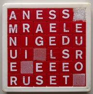Taquin - Pousse Pousse - Mots Croisés - 36 Cases - Brain Teasers, Brain Games