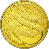 Monnaie, Pologne, Green Lizards, 2 Zlote, 2009, Warsaw, TTB, Laiton, KM:678 - Polonia