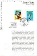 France. Lucky Luke. Fête Du Timbre. Paris. 15/03/2003 - FDC