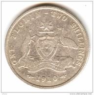 Australia 1 Florin 1910 - Monnaie Pré-décimale (1910-1965)