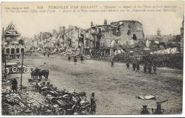 GUERRE 14 18 PERONNE EURCPEAN WAR ASPECT DE LA VILLE - Peronne