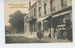 AULNAY SOUS BOIS - Avenue Dumont Et Place De La République - Aulnay Sous Bois