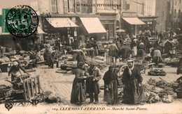 5581-2018      CLERMONT FERRAND  MARCHE ST PIERRE - Clermont Ferrand