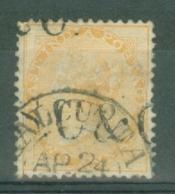 India: 1865   QV    SG61    2a     Yellow     Used - 1858-79 Kolonie Van De Kroon