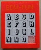 Taquin - Pousse Pousse - EDU-FUN - Lettres - Brain Teasers, Brain Games