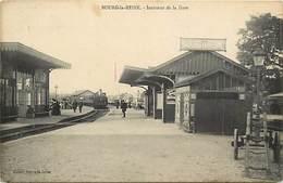 - Dpts Div.-ref-AD660- Hauts De Seine - Bourg La Reine - Interieur  Gare - Gares - Train - Ligne De Chemin De Fer - - Bourg La Reine