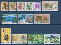 MALAWI - YVERT N° 1/13 ** MNH - COTE = 37 EUR. - FAUNE ET FLORE - - Malawi (1964-...)